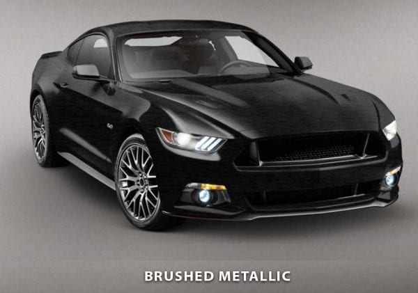 brushed metallic car wraps
