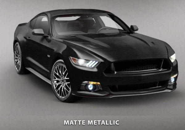 matte metallic