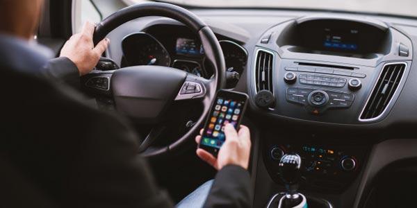 smart phone car