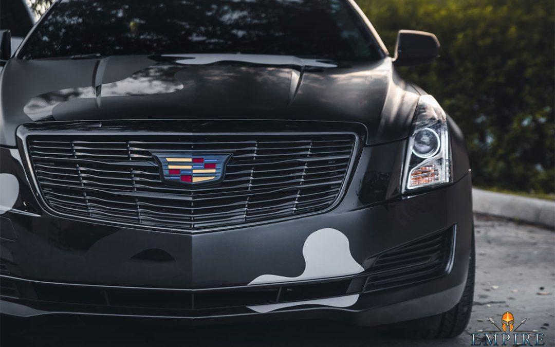 Orlando Car Wraps – Wrapping A Cadillac