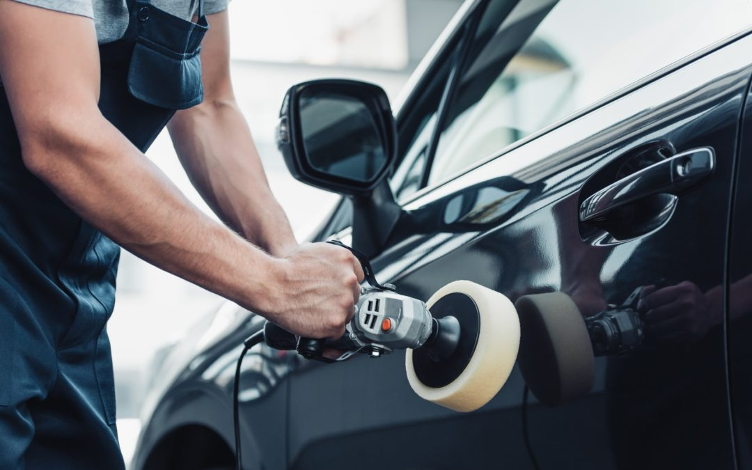 auto detailing tools and chemicals